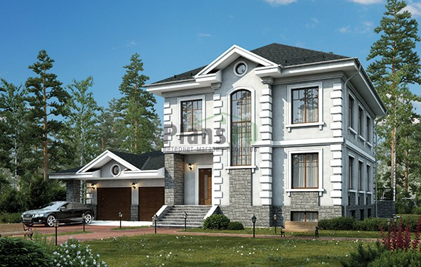 Проект кирпичного дома 42-64