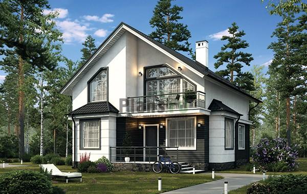 Проект кирпичного дома 42-65