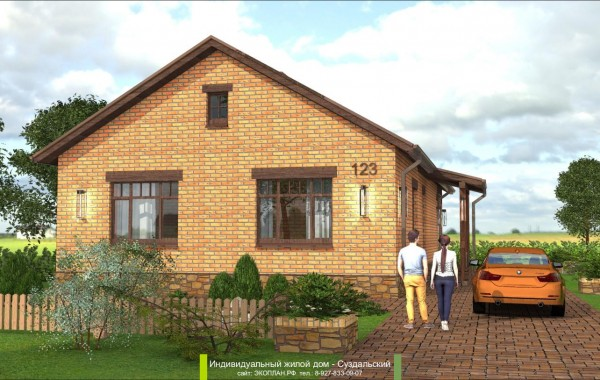 Готовый проект дома - Суздальский - Ульяновск