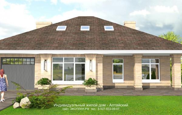 Готовый проект дома - Алтайский - Ульяновск