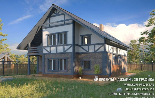 "Проект Дома 10х11 ""Параплан"""