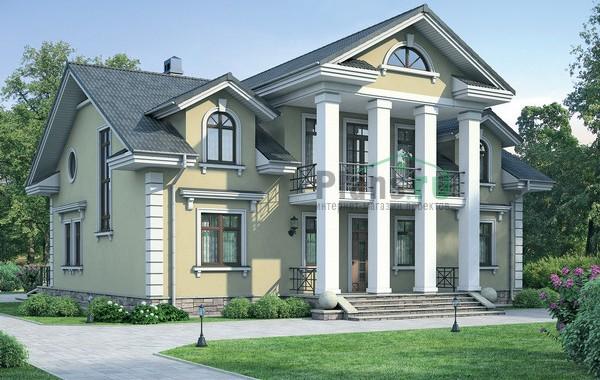Проект кирпичного дома 37-11