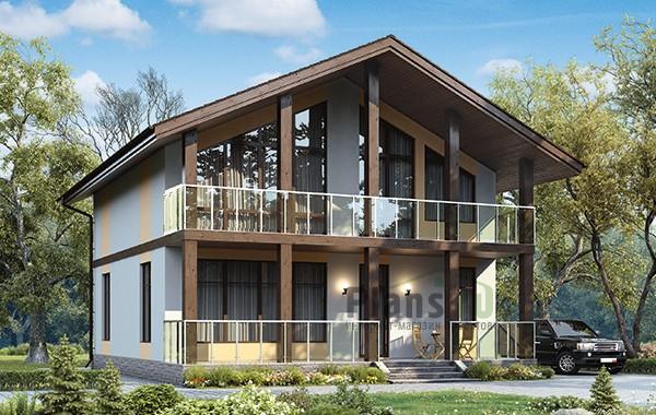 Проект кирпичного дома 42-77