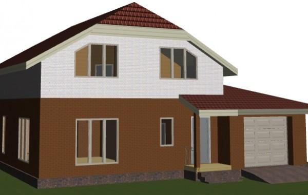 Индивидуальный жилой дом из керамоблоков