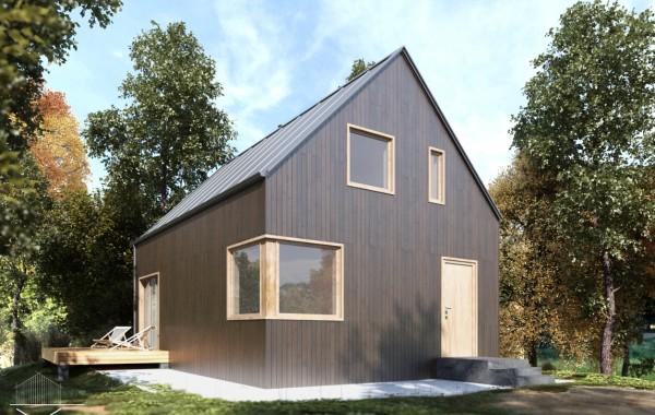 Загородный дачный дом