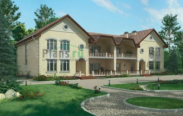 Проект кирпичного дома 37-31