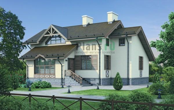 Проект кирпичного дома 37-39