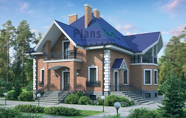 Проект кирпичного дома 37-56
