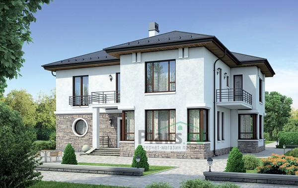 Проект кирпичного дома 37-81