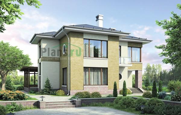 Проект кирпичного дома 38-30