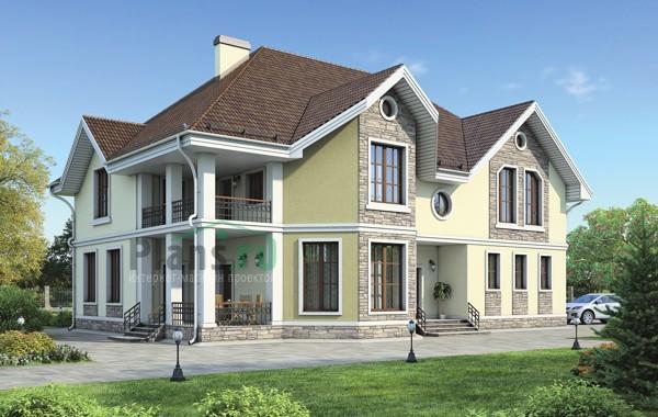Проект кирпичного дома 38-32