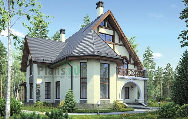Проект кирпичного дома 38-39