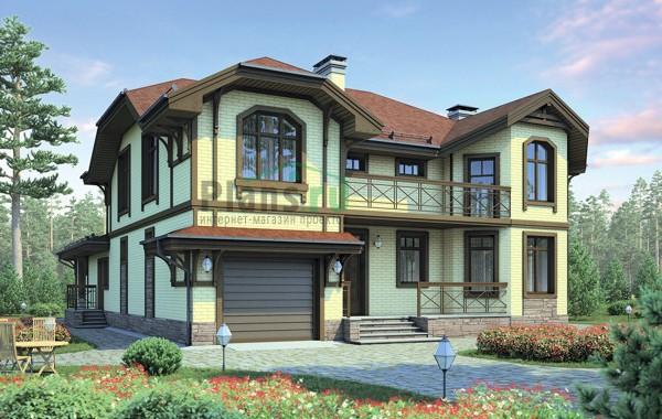 Проект кирпичного дома 38-59