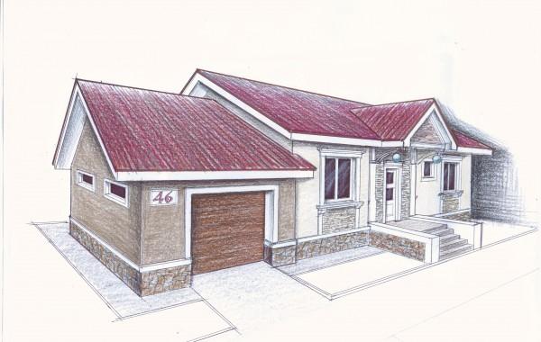 Рабочий проект индивидуального жилого дома