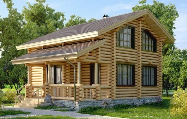 Проект дома-бани AM-2064