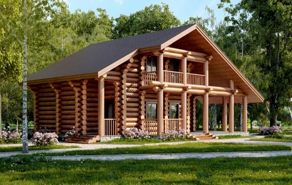 Проект дома-бани AM-2065