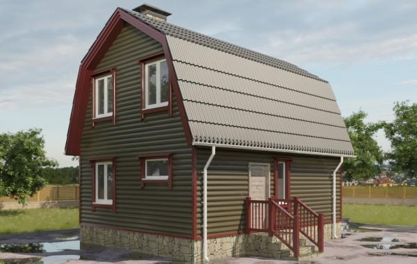 6 Проект небольшого дома 79 кв.м / Артикул СПС-106