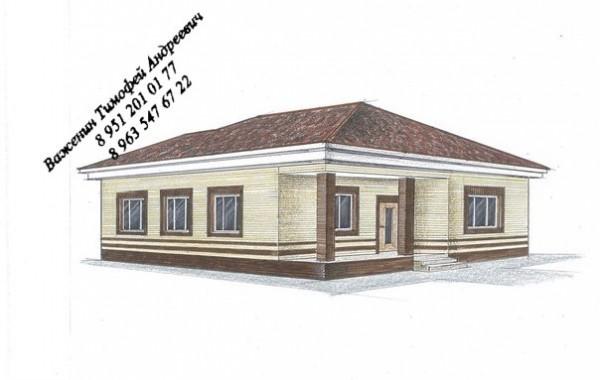 Проект 1-го жилого дома