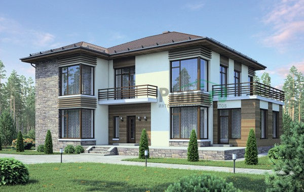 Проект кирпичного дома 38-72