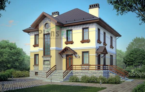 Проект кирпичного дома 38-80