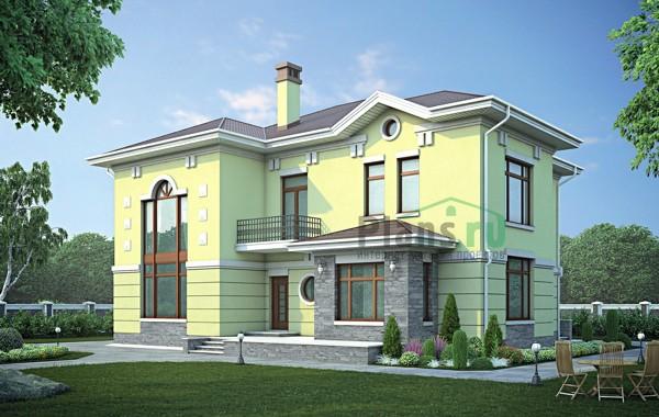 Проект кирпичного дома 38-86
