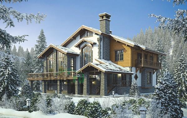Проект кирпичного дома 39-05