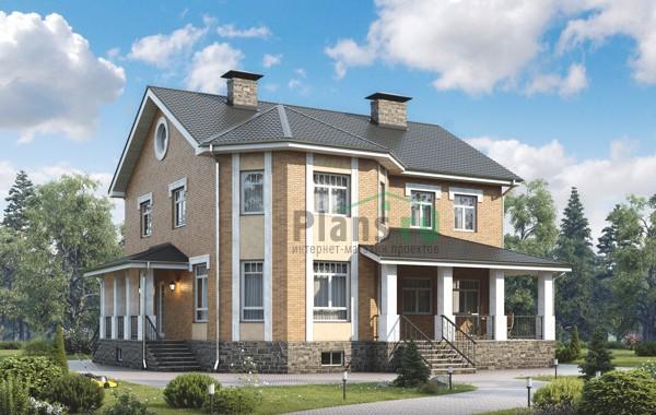 Проект кирпичного дома 39-09