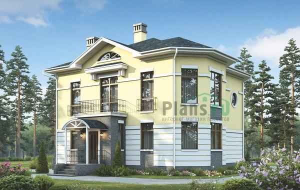 Проект кирпичного дома 39-21
