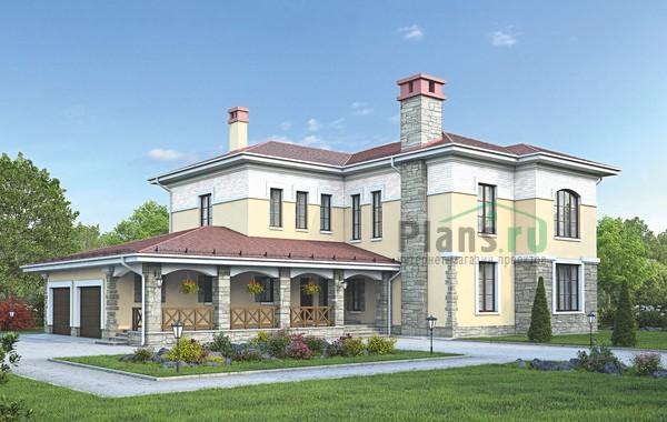 Проект кирпичного дома 39-26