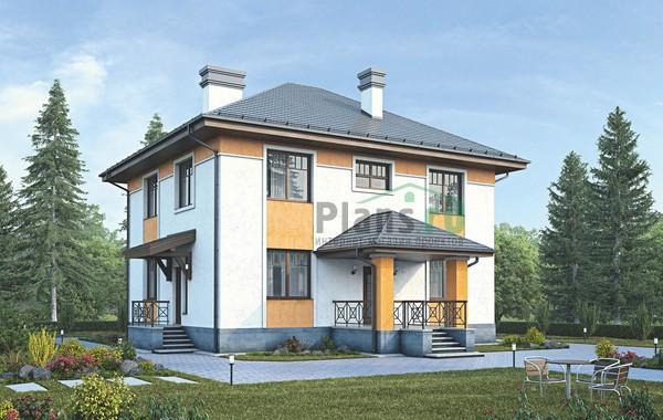 Проект кирпичного дома 39-29