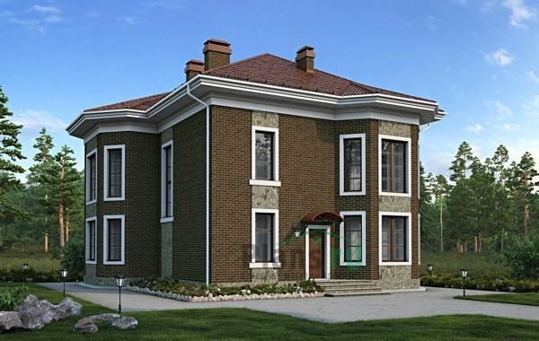 Проект кирпичного дома 39-39