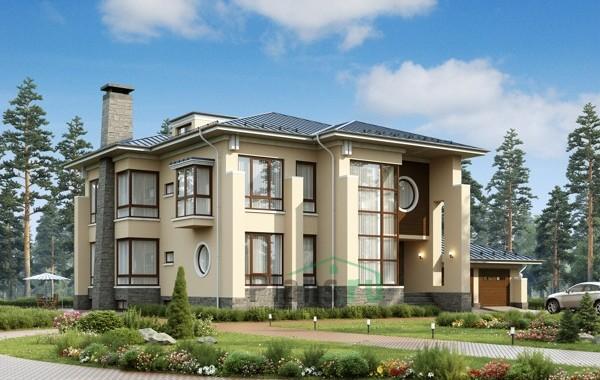 Проект кирпичного дома 39-44