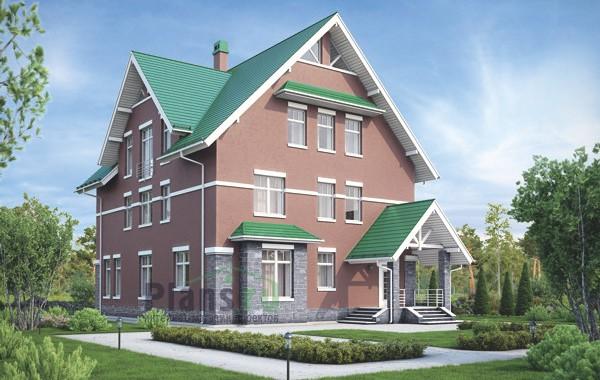 Проект кирпичного дома 39-66