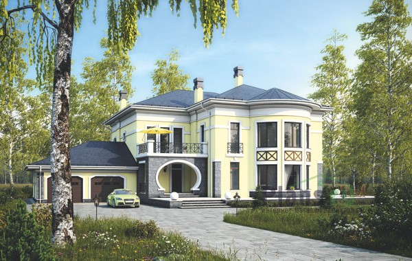 Проект кирпичного дома 39-68
