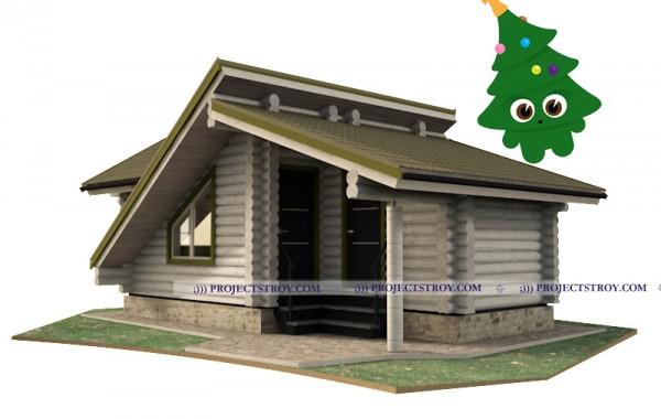 Садовый дом и хозблок 7.5 х 4 м