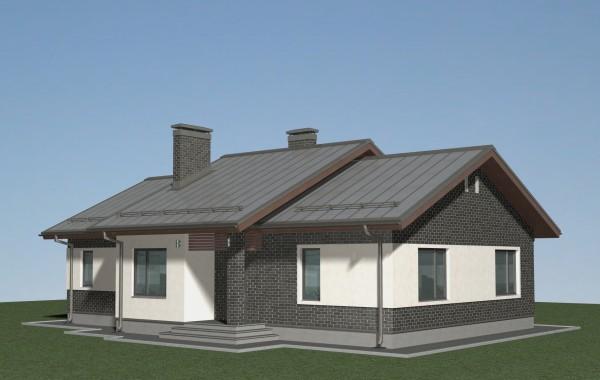 Проект одноэтажного дома А-07-19