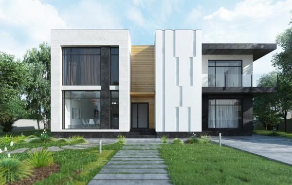 Современный дом с комфортом