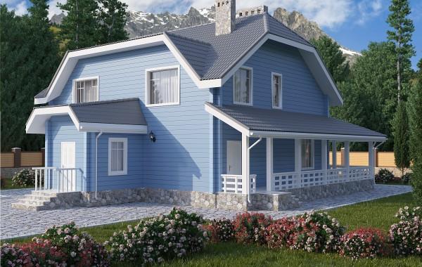 Готовый проект дома 193 кв.м // Артикул ПГЕ-150
