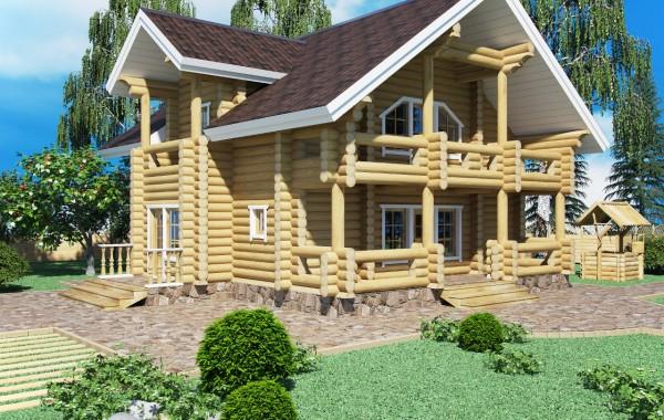 рубленый дом Эверест