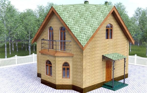 Проект уютного дома 64 кв.м / Арт. Cу-71
