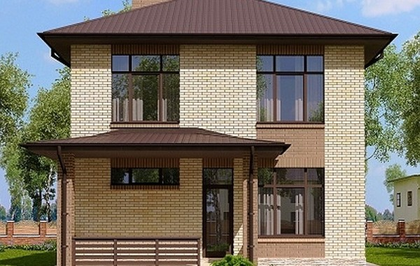 Готовый проект дома 135 кв.м // Артикул ДмП-102