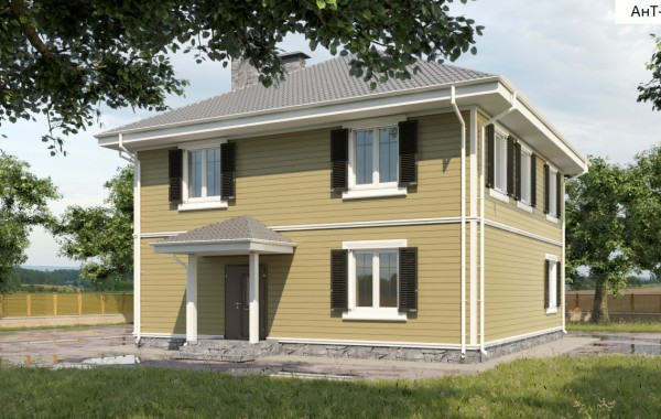 Проект дома 160 кв.м / Артикул АНТ-111