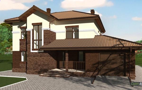 Проект дома 4m593