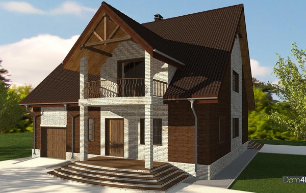 Проект дома 4m595