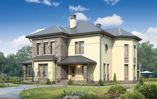 Проект кирпичного дома 40-25