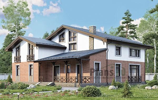 Проект кирпичного дома 41-05