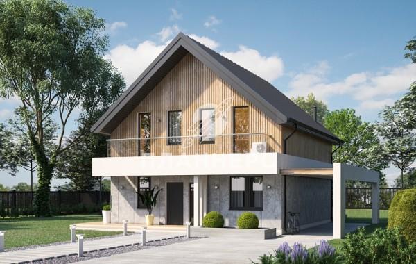 Проект дома 051-168-1М