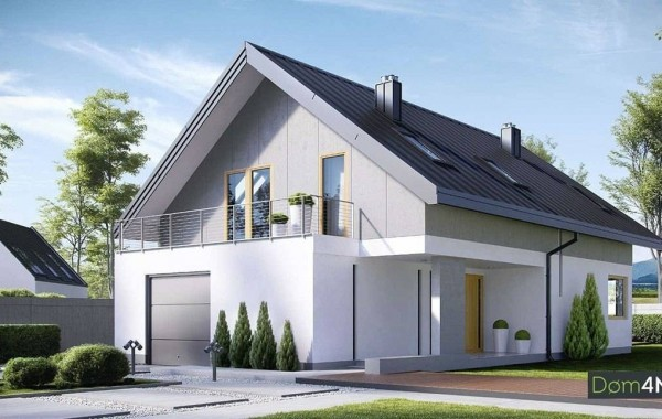 Проект дома 4m707