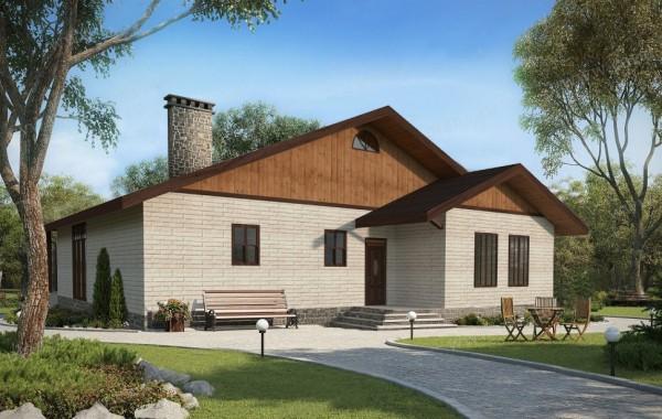 Готовый проект дома 115 кв.м // Артикул СТ-141