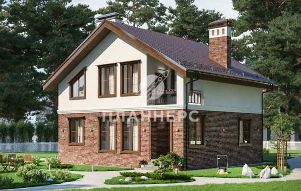 Проект дома Планнерс 018-152-1М